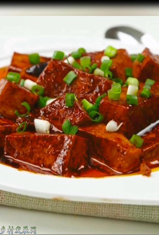 美味红烧豆腐这么做,简单又下饭,吃了还想吃
